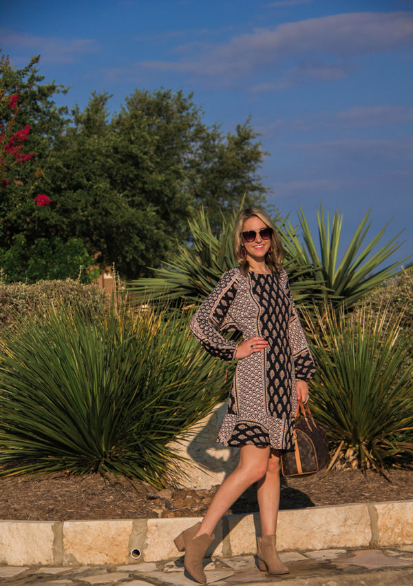 The Transitional Dress (From Summer to Fall & From Work to A Date)