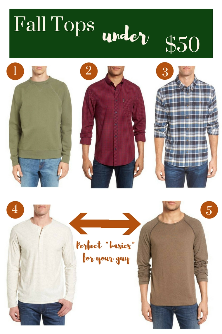 budget friendly fall tops under $50