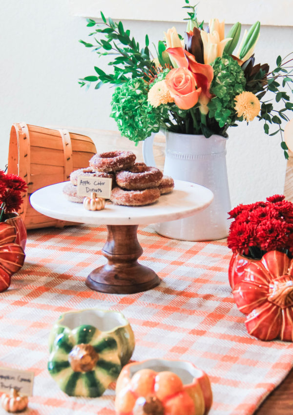 Fall Brunch Tablescape With Bed Bath & Beyond