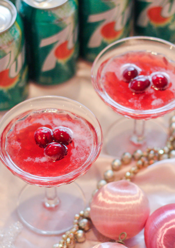 Festive Cranberry Punch For Easy Holiday Parties