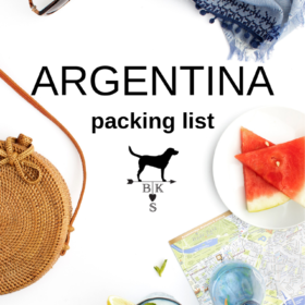Argentina Packing List